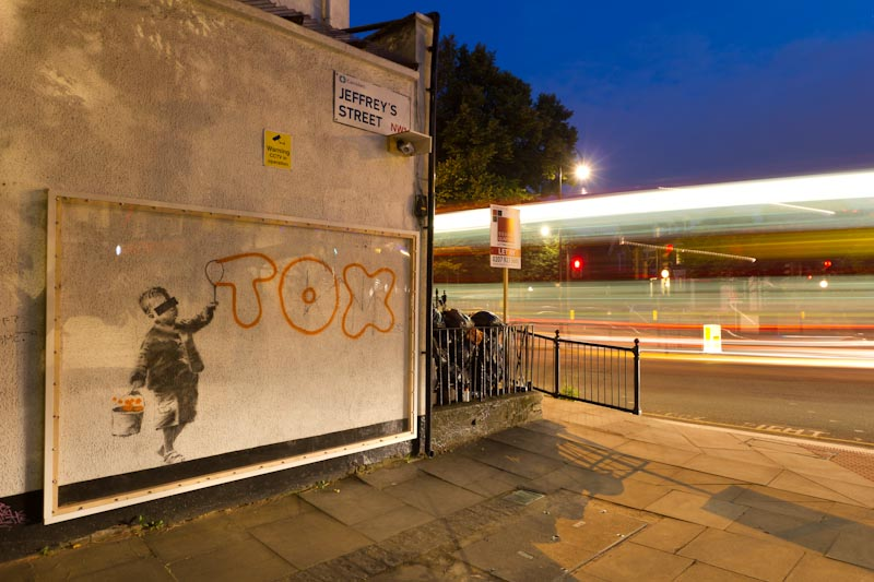 """Banksy - """"TOX"""" 1"""